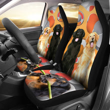 Cute Hovawart Dogs Print Car Seat Covers- Free Shipping