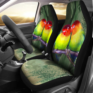 Cute Lovebird Print Car Seat Covers- Free Shipping
