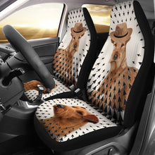 Irish Terrier Print Car Seat Covers- Free Shipping