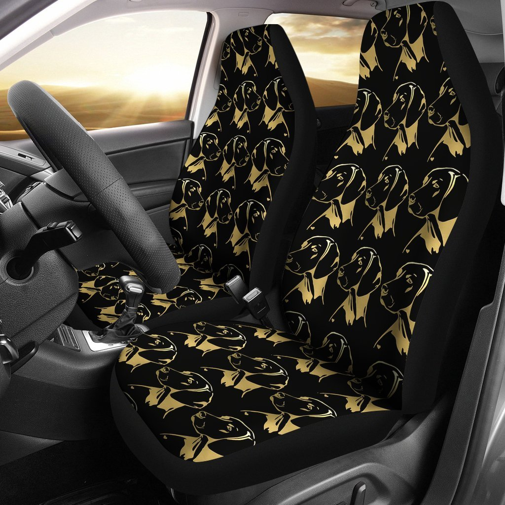 Vizsla Dog Print Car Seat Covers-Free Shipping
