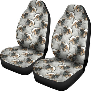 Tibetan Spaniel Patterns Print Car Seat Covers-Free Shipping