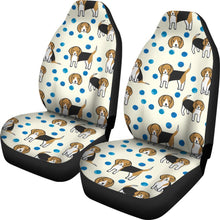 Cute Beagle Patterns Print Car Seat Covers-Free Shipping