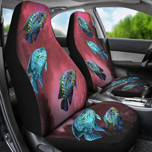 Jack Dempsey Fish Print Car Seat Covers- Free Shipping