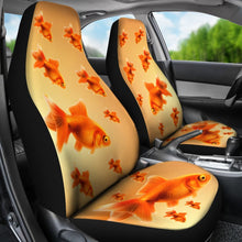 Goldfish (Carassius auratus) Print Car Seat Covers-Free Shipping
