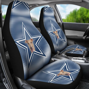 Italian Greyhound Dog Print Car Seat Covers-Free Shipping