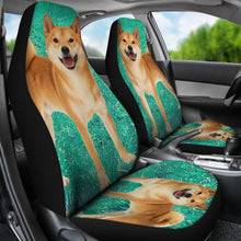 Shiba Inu Dog Print Car Seat Covers- Free Shipping