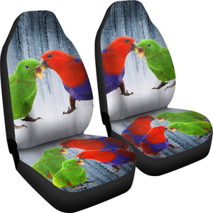 Eclectus Parrot Print Car Seat Covers- Free Shipping