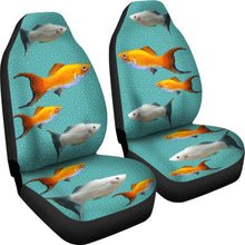 Mollie Fish Print Car Seat Covers-Free Shipping