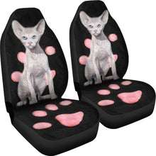 Sphynx Cat Print Car Seat Covers-Free Shipping
