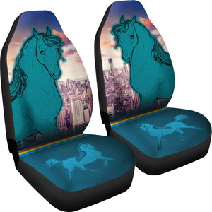 Anglo Arabian Horse Print Car Seat Covers- Free Shipping