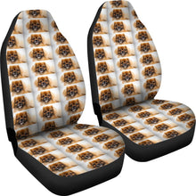 Tibetan Spaniel Patterns2 Print Car Seat Covers-Free Shipping