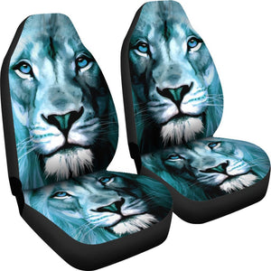 Lion Print Premium Car Seat Covers- Free Shipping