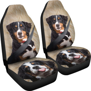 Bernese Mountain Dog Print Car Seat Covers- Free Shipping