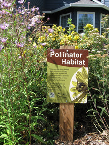 Pollinator Habitat Sign Donation