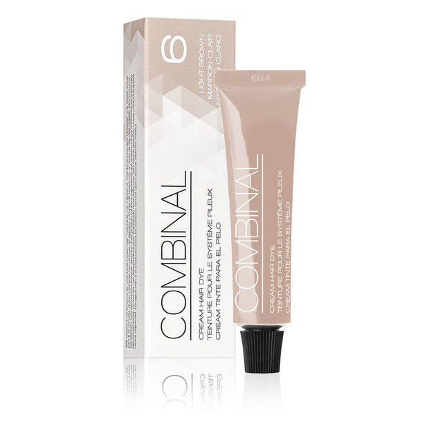 Combinal Cream Hair Dye Light Brown 0.5 oz