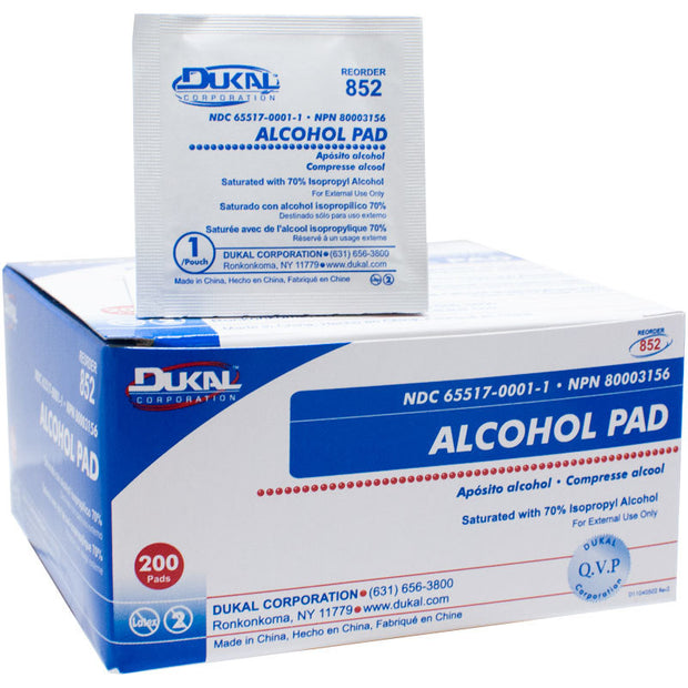 Alcohol Prep Pads / Wipes - 200/box