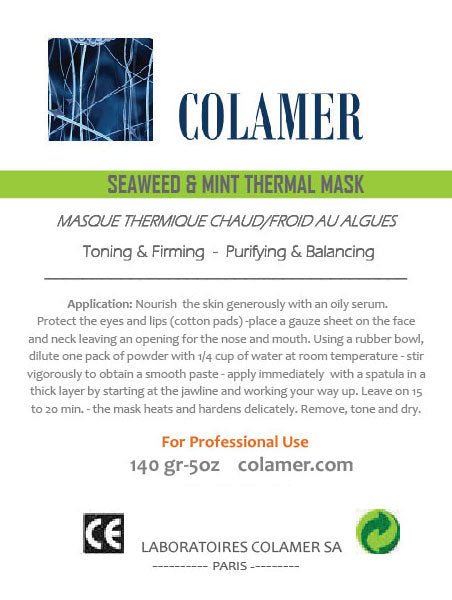 Colamer Seaweed and Mint Thermal Mask