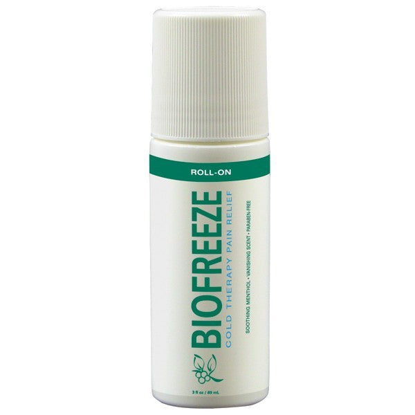 Biofreeze Pain Reliever Roll On 3 oz