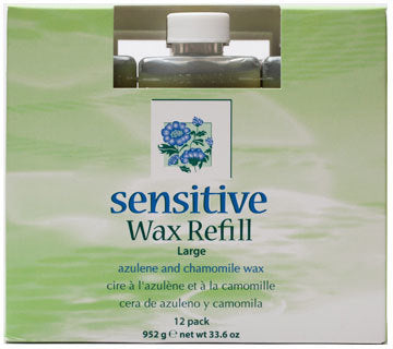 Clean+Easy - Sensitive Wax Refills Large 12/PK