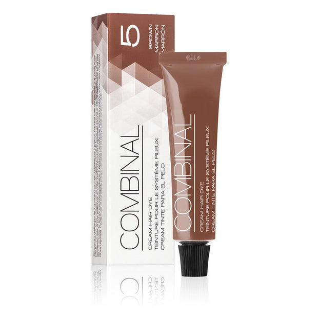 Combinal Cream Hair Dye Brown 0.5 oz