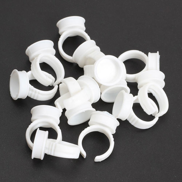 Disposable Glue/Ink Single Ring Cups 100/PK