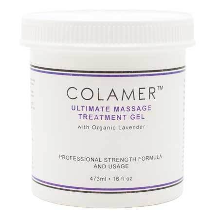 Colamer Ultimate Massage Treatment Gel with Organic Lavender 16 fl oz