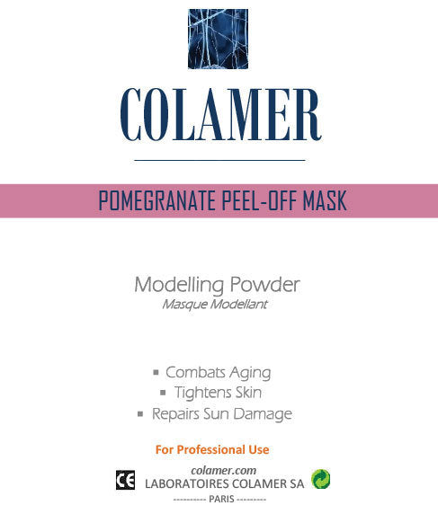Colamer Pomegranate Peel-Off Mask