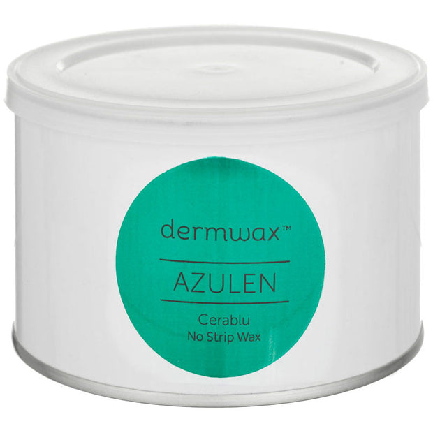 Dermwax Azulen Stripless Hard Wax 400ml - EUROPEAN SIZE CAN