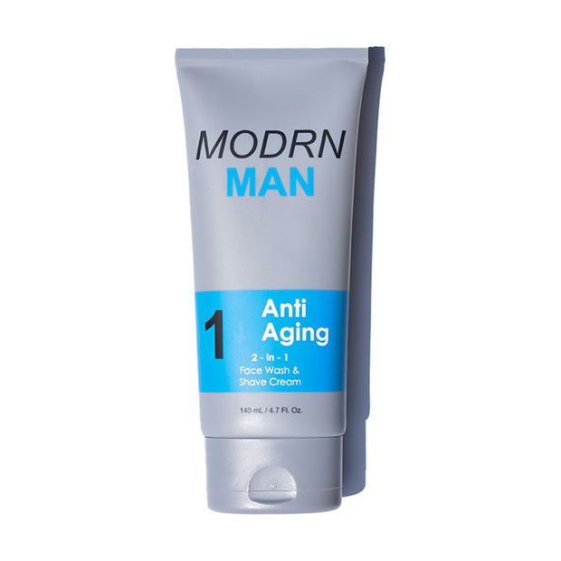 Modrn Man - Anti-Aging Step 1 - Face Wash & Shave Cream