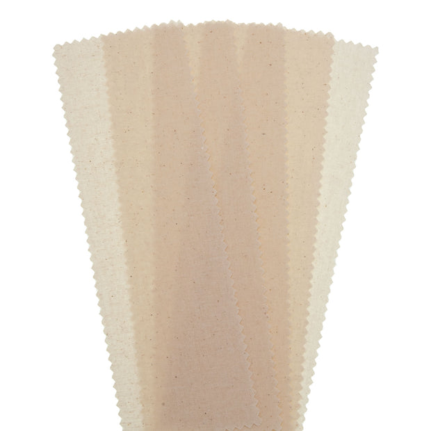 "Muslin Strip Natural 3"" x 9"" - 100/PK"