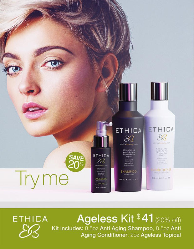 Ethica Anti-Aging Try Me Ageless Kit for Women