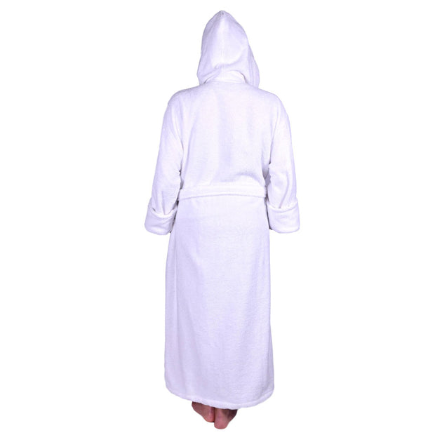 Unisex Terry Bathrobe with Hoodie