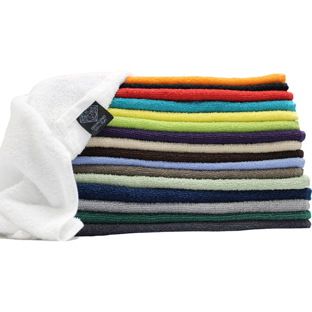 "Diamond Ultra Soft Hand Towels 15""x25"" - 1 Dozen"