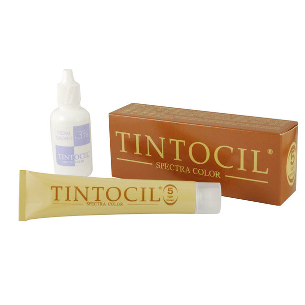 Tintocil Light Brown Cream Hair Dye 30ml/1oz