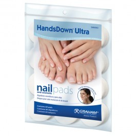 Handsdown Ultra Nail & Cosmetic Pads 60/PK