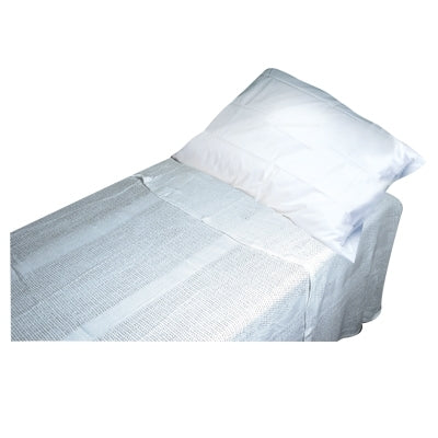 "Light Cotton Blanket White 66"" x 90"""