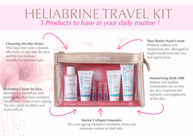 Heliabrine The Essentials Travel Kit