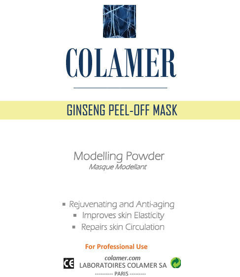 Colamer Ginseng Peel-Off Mask