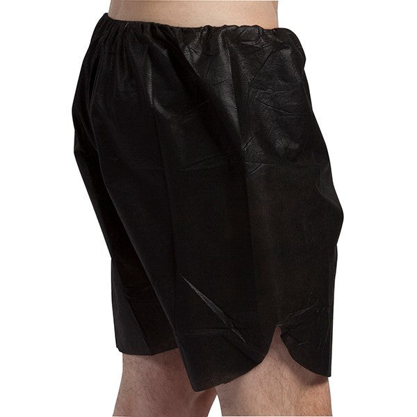 Men's Black Boxer Shorts - S/M