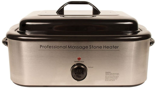 Professional Hot Stone Massage Warmer 18 Quart