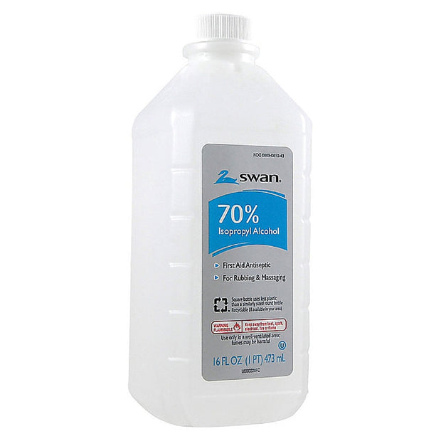 Rubbing Alcohol 70% 16 oz
