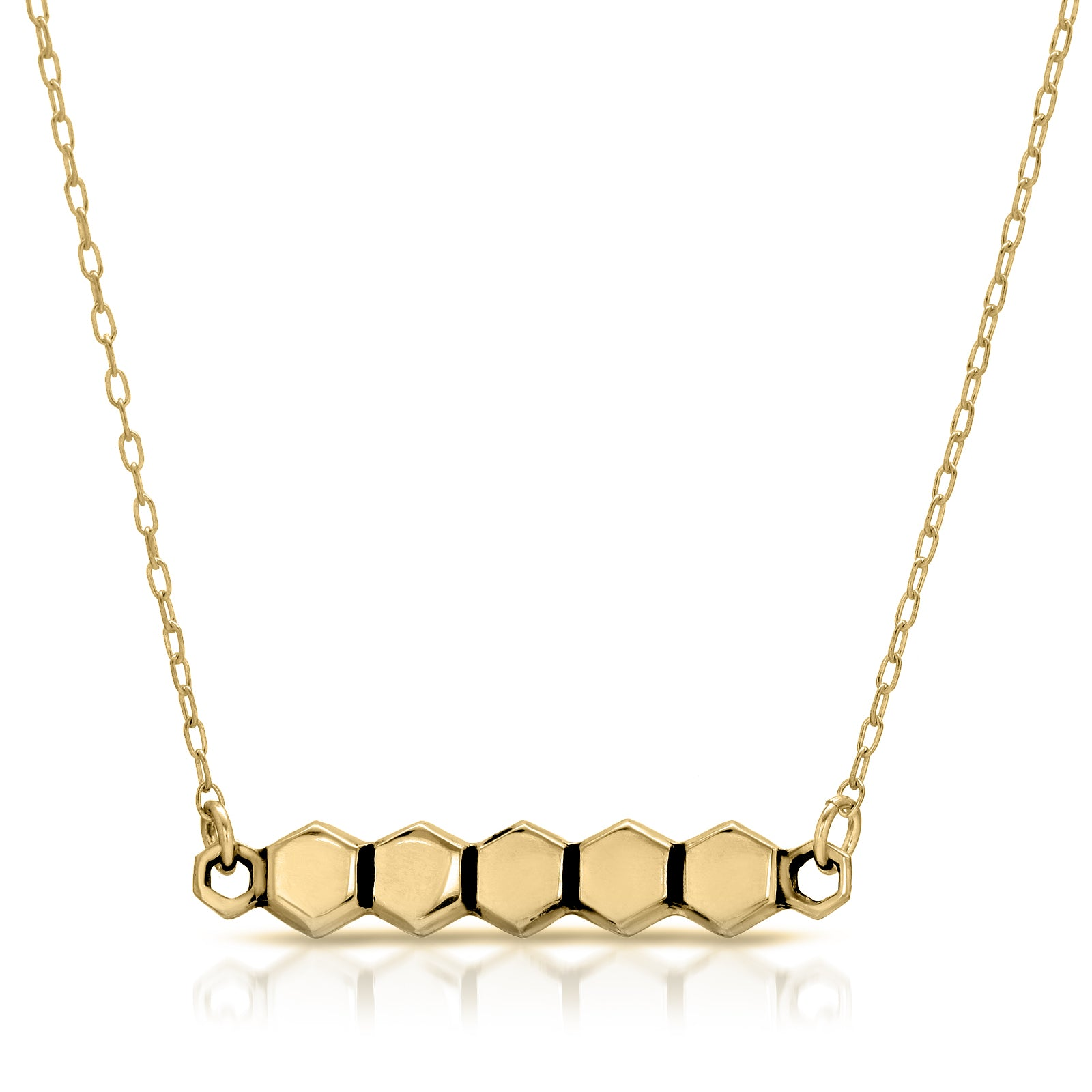 Honeycomb Necklace - The W Brothers