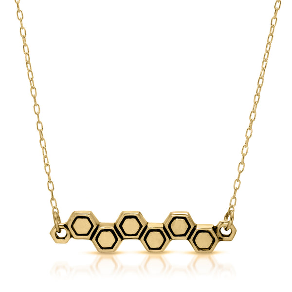 Harmony Honeycomb Necklace - The W Brothers