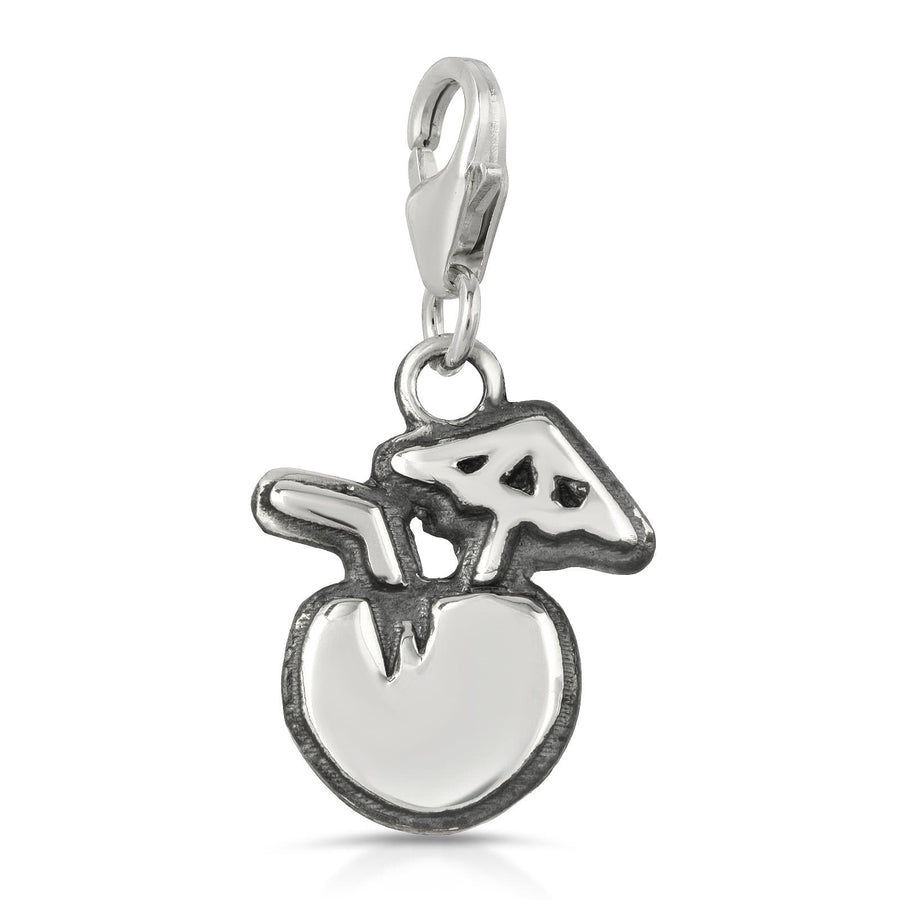 The W Brothers coconut drink tropical charm made with 925 sterling silver jewelry high quality silver pendant charm jewelry