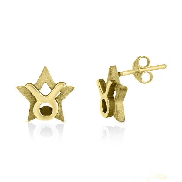 The W Brothers hand-crafted premium 925 Sterling silver star-sign stud earrings crafted in the highest quality of sterling silver with an oxidized star sign in the back with the beautiful Gemini zodiac horoscope symbol projecting on the front. Available in premium sterling silver, real 18k yellow gold & rose gold. Shop your original look only at thewbros.com