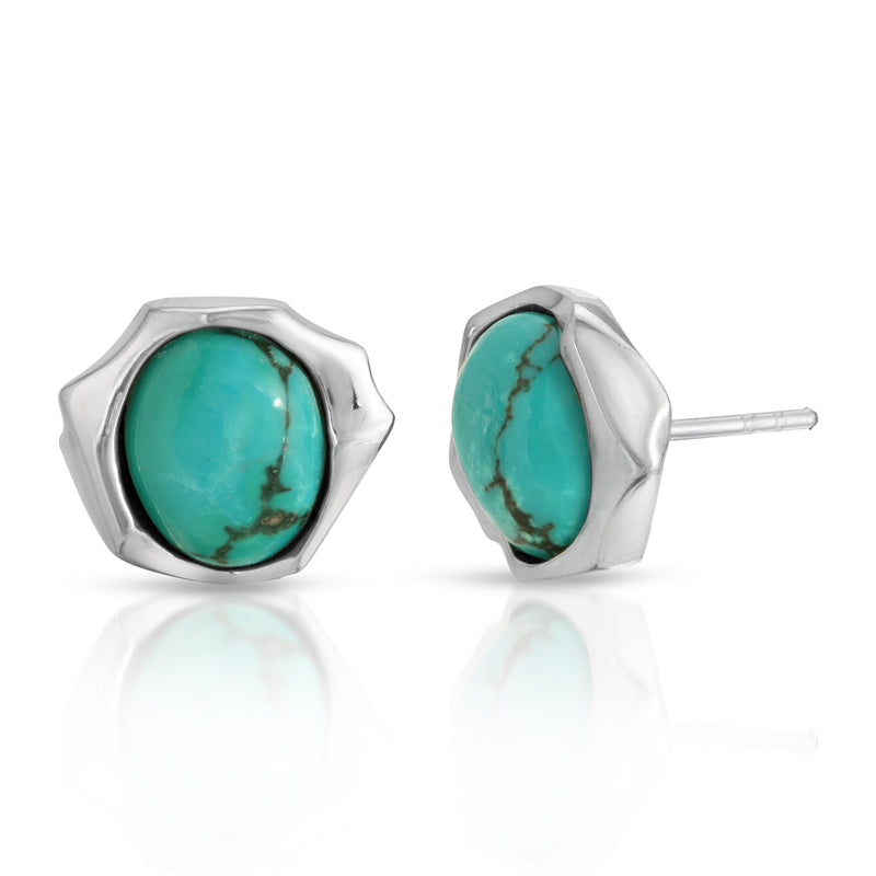 The W Brothers turquoise ring and earrings couple set bundle package set crafted in 925 sterling silver with natural AA Grade turquoise gemstones. Matching set earrings in turquoise perfect for a complete outfit. Only available at www.thewbros.com