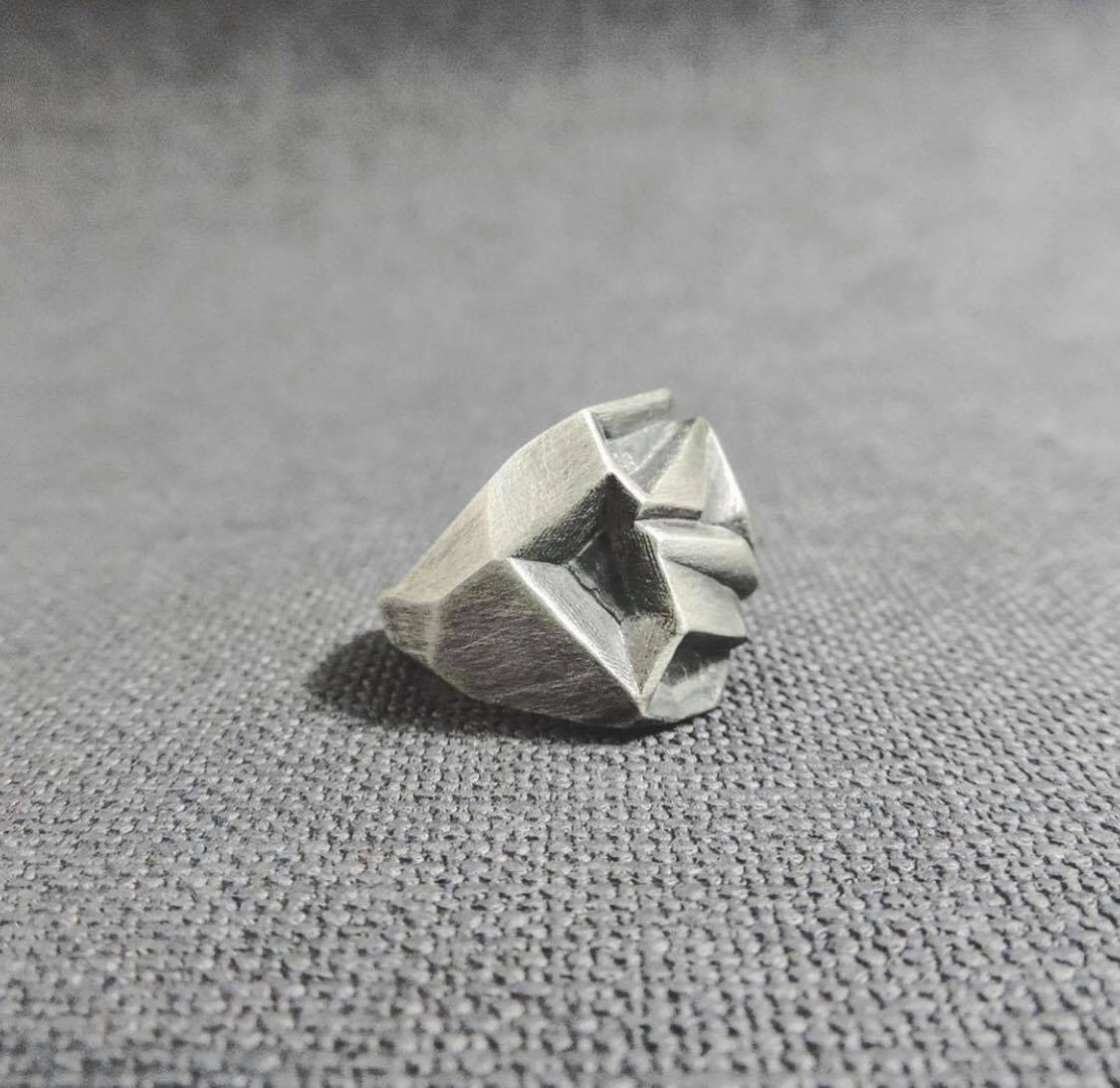 Metallic Rose Ring - The W Brothers