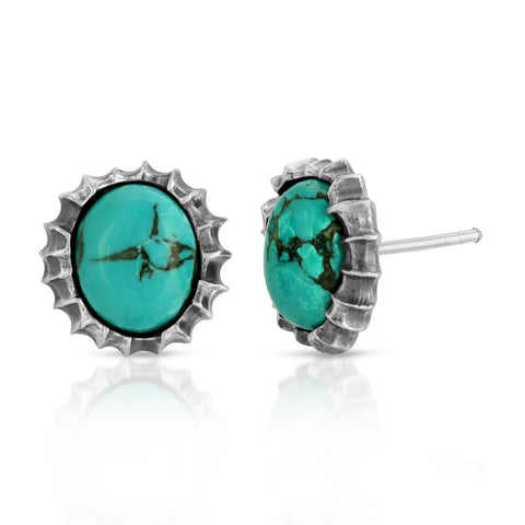Turquoise Sunshine Earrings