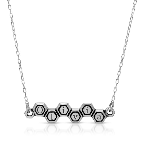 Harmony Honeycomb Necklace
