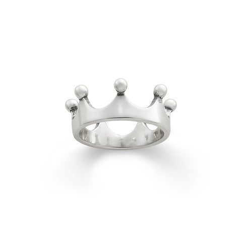 Crown Ring (Engravable)